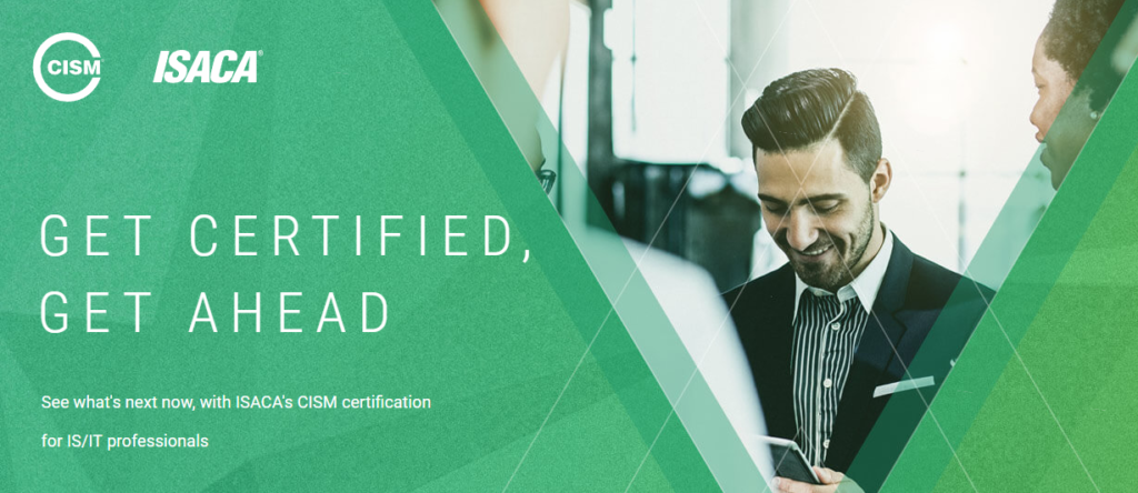 ISACA CISM security exam certification